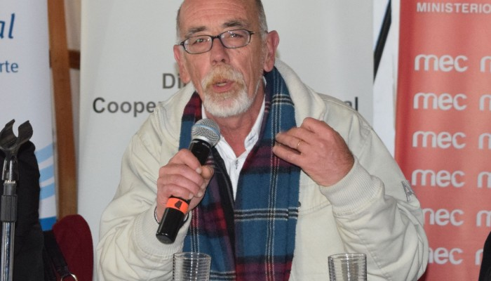 Dr. Rodolfo Silveira, consejero delegado de la Universidad Tecnológica.