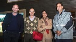 Diego Carrau, Pablo Balerio, Lucía Basso y Diego Wollheim.