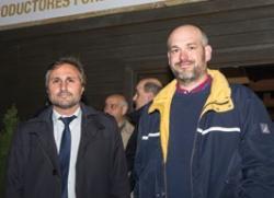 Adrián Gutiérrez y Gustavo Leban.
