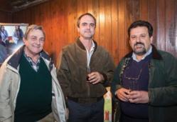 Roberto Spoturno, Jorge Martínez Haedo y Rafael Sosa.