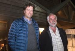 Uwe Sedelmayr y Luis de Salamando.