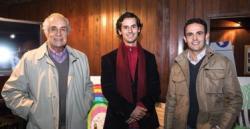 Jorge Barbosa, Juan Diego Barbosa y Ramiro Senattore.