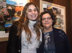 Jimena Rossolino y Gabriela Malvárez