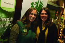 Valentina Desmullier y Susana Cuenca