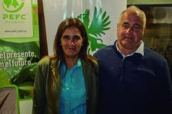 María del Carmen Portela y Antonio Pereira
