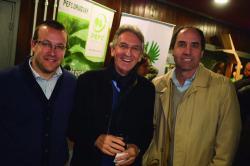 Pablo Bidegain, Gerardo Barrios y Nicolás Mosca