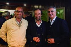 Gonzalo Martinelli, Alberto Rodríguez y Nelson Ledesma