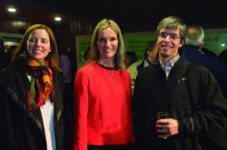 Jimena Paseyro, Laura Díaz y Miguel Perrier